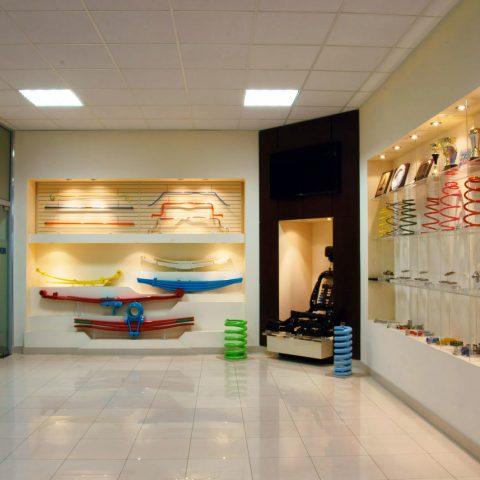 Daewon D & D Resory Polska – showroom